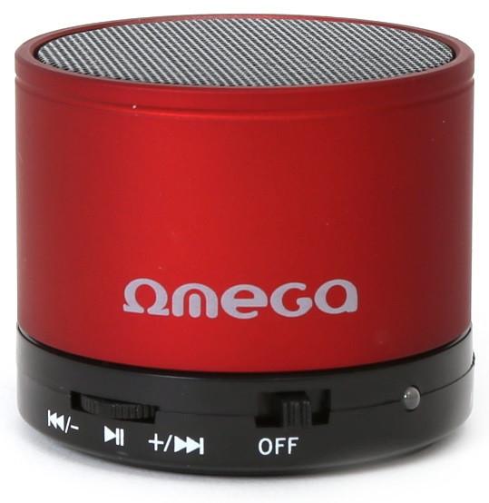 Портативна колонка Omega Bluetooth OG47R red