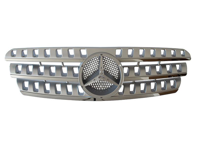 Решетка радиатора  Mercedes мерседес мл W163 тюнинг стиль W164 ml