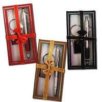 Набор подарочний ручка + брелок в коробке 319