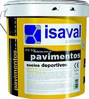 Краска для спортивных площадок особопрочная с длительным сроком службы 4 л Isaval