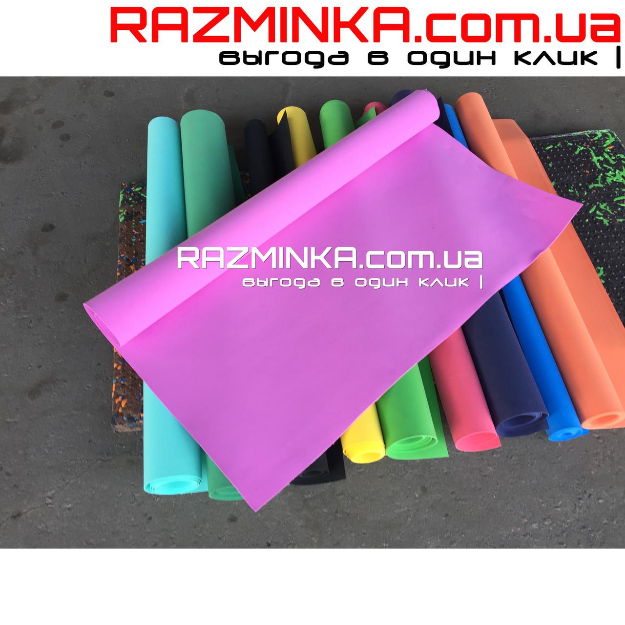 Фоамиран для творчества 2500х1450х3мм, розовый