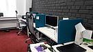 Настольные экраны-перегородки ОпенАкустик синие 1200х600х40мм, фото 3