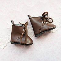 Обувь для кукол, сапожки коричневые - 5*2.8 см
