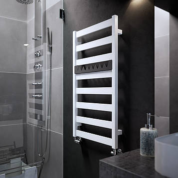 TERMA Электрический полотенцесушитель Vivo One 910*500 мм White