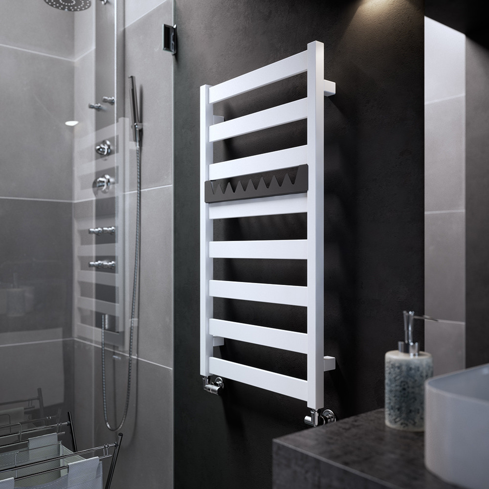 TERMA Электрический полотенцесушитель Vivo One 910*500 мм White ...