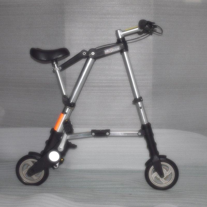 Мини складной велосипед А-BIKE.Портативный складной велосипед алюминиевая рама.