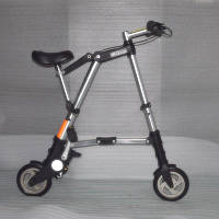 Мини складной велосипед А-BIKE.Портативный складной велосипед алюминиевая рама. , фото 1