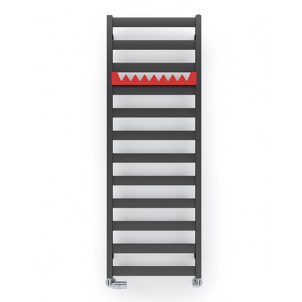 TERMA Електричний полотенцесушитель Vivo One 1390*500 мм Metallic Grey