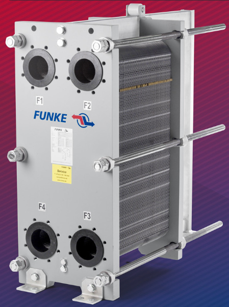 Пластинчатый теплообменник Funke FP 70 Артём средства для прочистки теплообменника