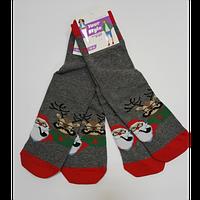 Новорічні шкарпетки універсальні демі арт.339