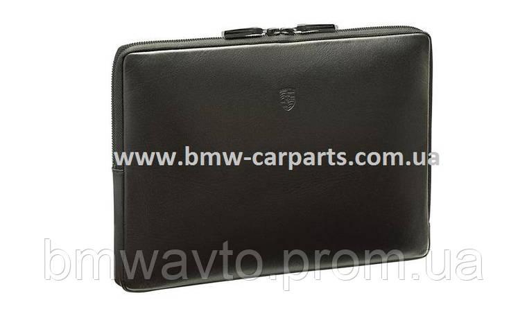 Кожаный кейс для ноутбука Porsche Laptop Sleeve, фото 2