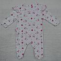 Комбинезон хлопковый Маленькая принцесса розовый (Польша), фото 4