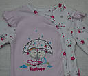 Комбинезон хлопковый Маленькая принцесса розовый (Польша), фото 2