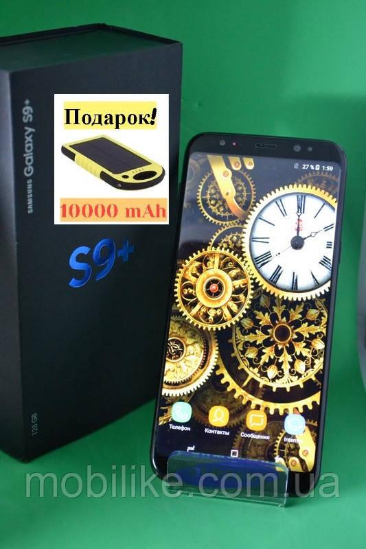 Копия Samsung Galaxy S9 Plus MTK6597/8 ЯДЕР 4/64GB НОВЫЙ ЗАВОЗ + В подарок POWER BANK 10000mAh!