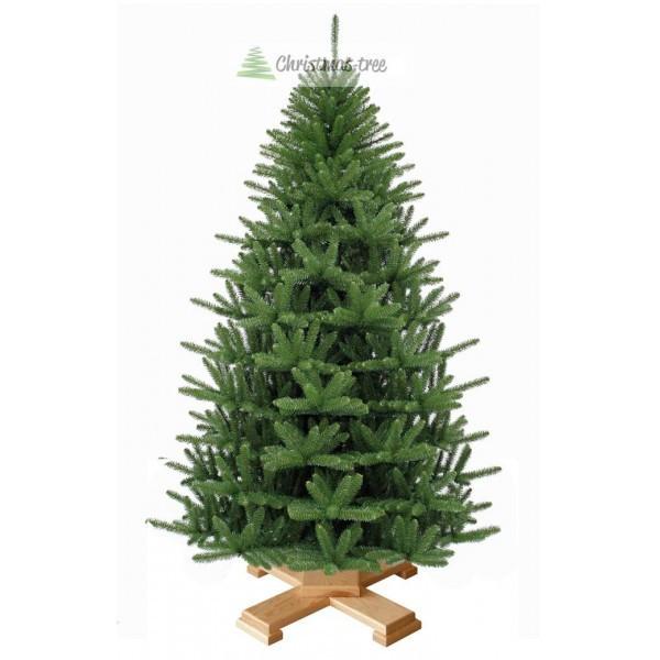 """Елка """"Альпийское рождество"""" на деревянной подставке 155 + гирлянда в подарок"""