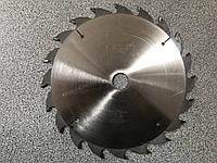 Ф160*32*36 Пила дискова з твердосплавними напайками для продольного розпилу