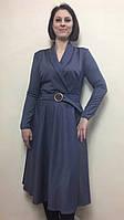 Женское офисное платье с расклешенной юбкой П250, фото 1