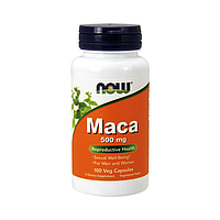 Адаптоген Now Foods - Maca 500 мг (100 капсул)