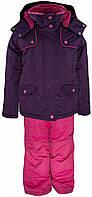 Комплект (куртка, штаны) GWG, Gusti, темно-фиолетовый (116) (3010 GWG_т.фіолетовий,)