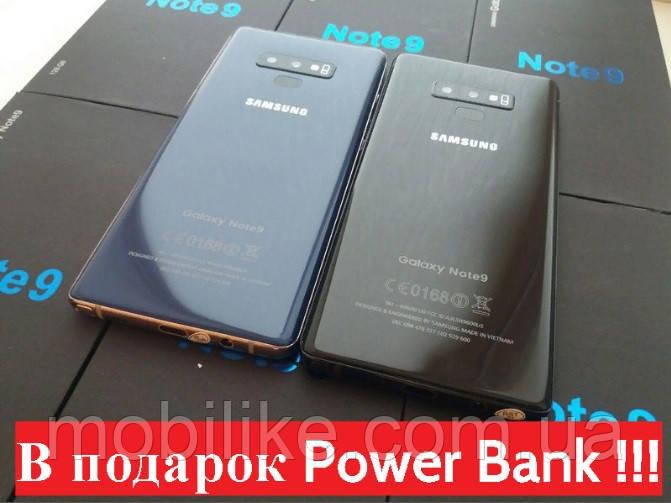 Точная копия Samsung Galaxy Note 9 4/128GB 8 ЯДЕР НОВЫЙ ЗАВОЗ + ПОДАРОК POWER BANK 10000mAh