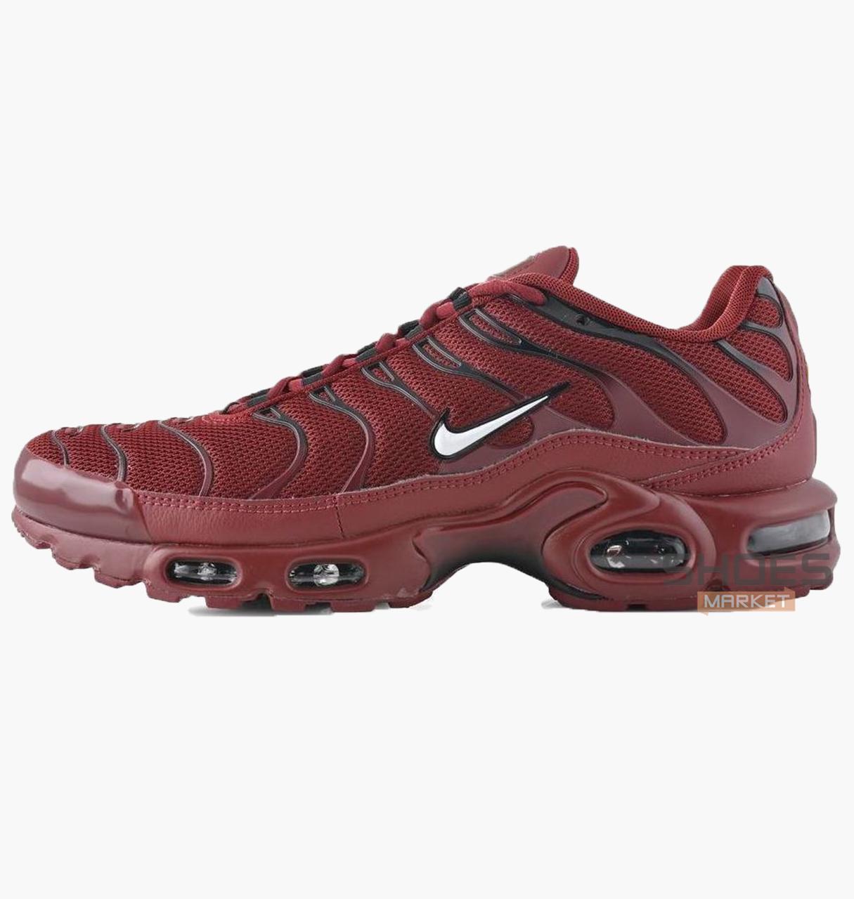Мужские кроссовки Nike Air Max Plus Red 852630-602, оригинал
