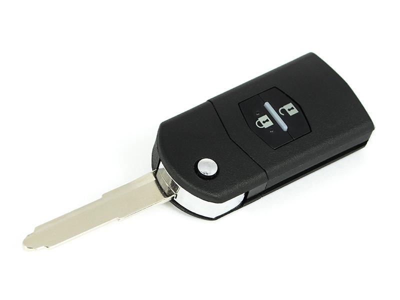 Корпус ключа Mazda 2 3 5 6 CX-7 RX-8 мазда