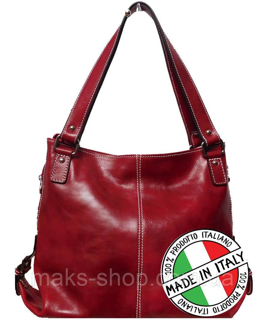 b779c8d5ec45 Женская кожаная сумка (Италия) женская Bottega Carele BC208 - Maks Shop-  надежный и