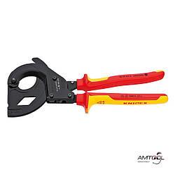 Ножницы для резки кабелей для кабеля со стальным армированием - Knipex 95 36 315 A