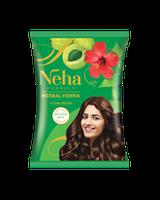 NEHA HENNA (Неха Хена) руда індійська фарба хна для волосся з амлою та гібіскусом.