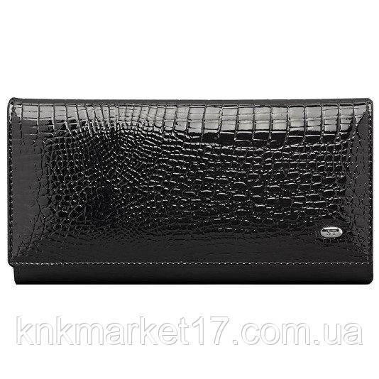 cf552fd75074 Кошелек женский кожаный ST AE 1518 black - Интернет магазин