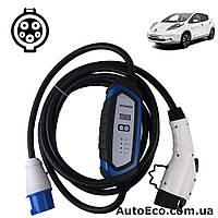 Зарядное устройство для электромобиля Nissan Leaf Duosida J1772-32A, фото 1