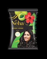 NEHA HENNA (Неха Хена) чорна індійська фарба хна для волосся з амлою та гібіскусом.