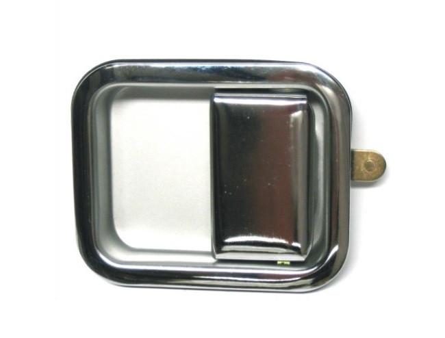Ручка двери левая хром Jeep Wrangler 97-06