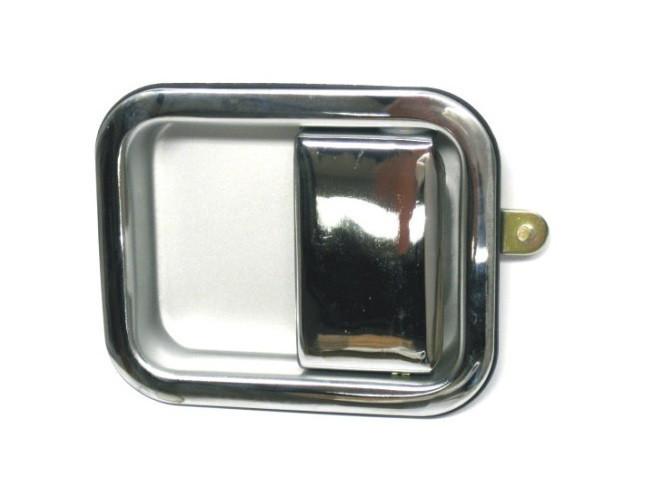Ручка двери левая хром Jeep Wrangler 87-95
