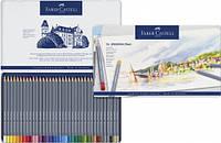 Набор акварельных карандашей Faber Castell 36 цветов GOLDFABER в металлической коробке (114636)