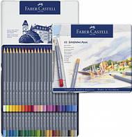 Набор акварельных карандашей Faber Castell 48 цветов GOLDFABER в металлической коробке (114648)