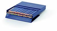 Набор акварельных карандашей Faber Castell 36 цветов ART GRIP в подарочной коробке