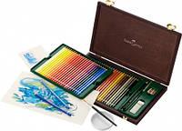 Набор акварельных карандашей Faber Castell 48 цветов Albrecht Durer деревянная коробка (117506)