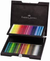 Набор акварельных карандашей Faber Castell 72 цвета Albrecht Durer деревянная коробка (117572)