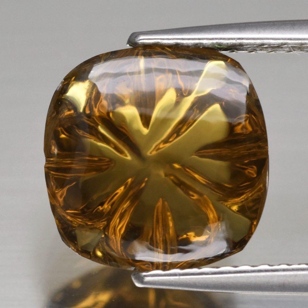Натуральный  цитрин 4.09ct 10mm