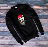 Свитшот Bad Santa logo | Кофта стильная