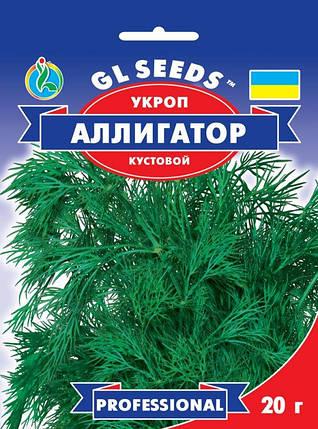 Укроп Аллигатор, пакет 20 г - Семена зелени и пряностей, фото 2