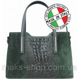 b3ad90e3aa0f Итальянская женская сумка натуральная кожа+натуральная замша под крокодила Bottega  Carele BC1032: продажа, цена в Киеве. женские сумочки и клатчи от