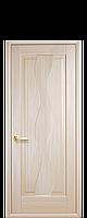 Межкомнатные двери Новый стиль Волна ясень