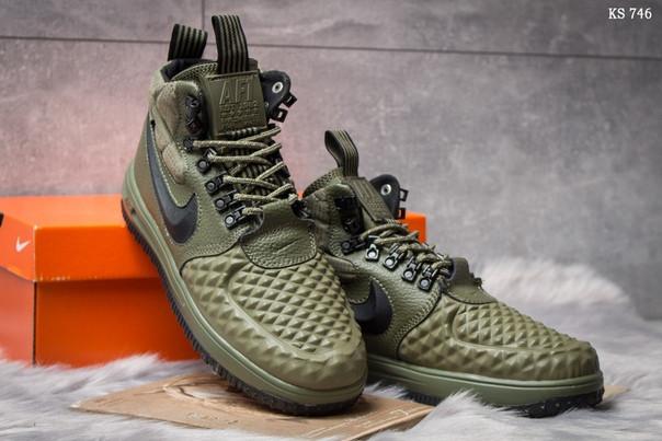 Мужские кроссовки Nike LF1 Duckboot (зеленые)