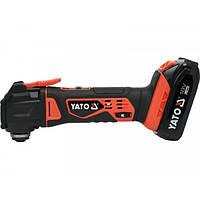 Многофункциональный ручной инструмент (реноватор) аккумуляторный YATO YT-82818
