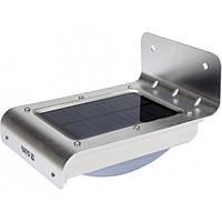 Светильник уличный, солнечный, аккумулятор - 3,7 В, 900мАч с датчиком движения- 3м YATO YT-81855