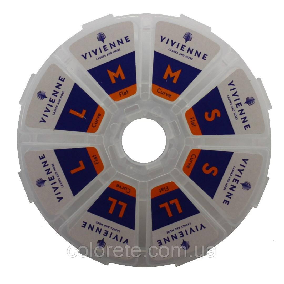 Набор силиконовых бигуди Vivienne (8 пар)