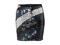 Юбка нарядная в пайетки Heidi Klum (размер 50), фото 1