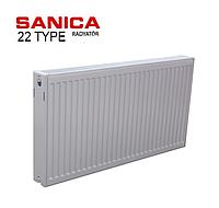 Радиатор стальной SOLARIS22 тип 300 * 400